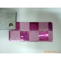 博蕾特皮革 2014厂家供应时尚包装材料PVC 镭射透明膜 镀铝膜银膜