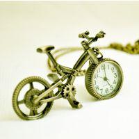 古铜挂表复古表装饰挂件表项链表 卡通表 自行车表单车表