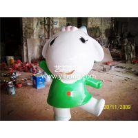 供应喜羊羊与灰太狼节日庆典卡通雕塑玻璃钢装饰雕塑