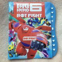 超能陆战队baymax bighero6 密码本笔记本锁密码书本儿童学期文具