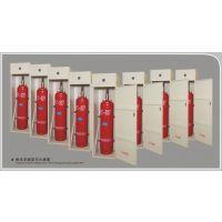 供应胜捷无管网柜式半固定气体灭火系统ZLX-40柜式七氟丙烷自动气体灭火系统 半固定柜式灭火装置