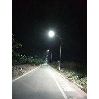 广万达市电互补路灯效果农村路灯效果 太阳能路灯效果