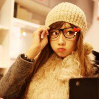 韩版时尚创意蝴蝶结眼镜架Hellokitty猫眼镜框女士 KT眼镜无镜片
