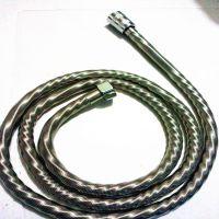 厂家直销SJ030 不锈钢新款压花弹簧管 防爆淋浴管150CM