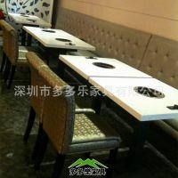 厂家批发各式餐饮家具 火锅桌 餐桌 酱料台