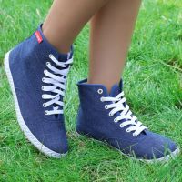 2015新款高帮女式帆布鞋批发透气款学生女鞋韩版鞋纯色单鞋板鞋