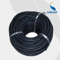 柳市直销AD13塑料波纹管 塑料软管/穿线管 PE黑色软管