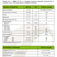 玻纤增强PA11法国阿科玛Arkema Rilsan BZM 8 O TL