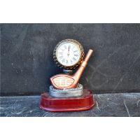 欧式座钟 树脂工艺品 家居装饰摆件创意高尔夫个性钟表0108