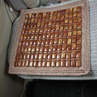 棕色花边单片座垫 夏季汽车座垫 手工编织座垫四方座垫34-2B\1955
