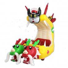 单人儿童充气电瓶车 长颈鹿加蓬广场充气气模车 郑州心悦厂家直销