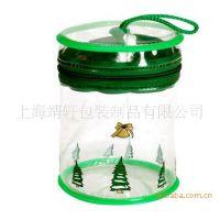 s155彩印PVC塑料手提袋 电压软透明PVC手提袋 Pvc透明手提袋