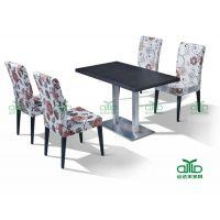 厂家专业生产 时尚不锈钢餐椅 简约餐椅 休闲餐椅 软包餐椅