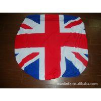 【国旗定点生产企业】供应旗帜 英国热转移引擎盖套 英国反光镜套