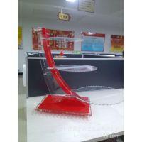 【热销】有机玻璃供应高档精美压克力蛋糕展示架,陈列架