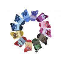 外贸订单儿童袜 自带品牌儿童袜订做 批发针织儿童袜子 时尚袜