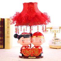 缘定今生!创意树脂台灯摆件 古装甜蜜娃娃 婚庆用品SA418