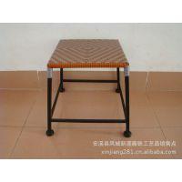 欧式铁艺 落地时尚餐厅餐桌 仿古创意长方形儿童学习桌 现货yf399