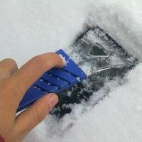 汽车小号迷你铲 除雪铲雪刮除冰铲 便携式车用雪铲刮雪板除霜工具