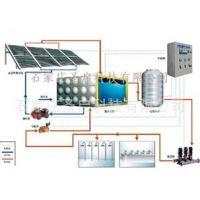 供应太阳能集中供水控制系统/恒温配水/混水系统装置