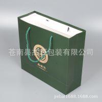 厂家定做纸袋 白卡纸手提袋印刷 保健品礼品手提袋