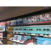 供应眼镜卖场用的玻璃展示柜
