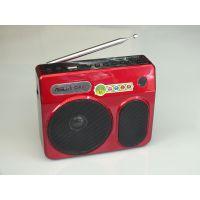 爱斯语A08先科521扩音器遥控歌词显示录音插卡/U盘收音大功率