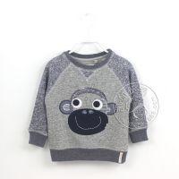 欧美外贸 NE*XT 14秋冬款 小猴子 套头毛圈卫衣 男孩打底衫 0.19