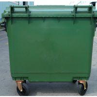 供应广西660L升环卫垃圾桶塑料移动垃圾桶大型垃圾车户外垃圾桶垃圾箱