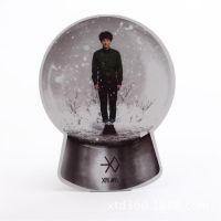 exo 十二月的奇迹  个人款 秀敏 水晶球卡 【SJQK012