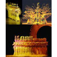 西安舞台演出服 民族服 舞蹈用品 练功服 瑜伽健身 合唱服