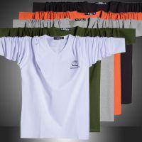 2014大码男装新款秋 大号长袖T恤 V领男士打底衫潮加大码CX011