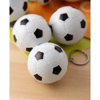 创意可爱足球造型圆珠笔 钥匙扣随身携带迷你伸缩笔 学生小奖品