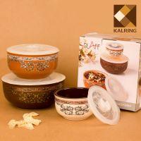 供应 创意陶瓷保鲜碗餐具 库存色釉陶瓷碗批发