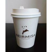 客户【贝尔麦莎】定制一次性咖啡纸杯 400ml热饮杯