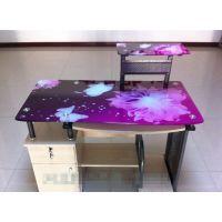 广州玻璃电脑桌打印机厂家报价,铝板广告标牌制作UV打印机