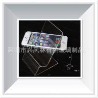 专业生产亚克力手机展示架 有机玻璃手机展示架 通讯展示架