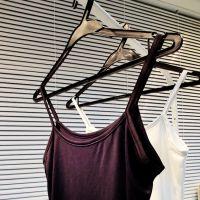 【13C】韩版女生 百搭时尚  吊带背心 打底衫 短款