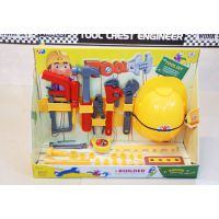 儿童仿真过家家玩具,工具套装维修工具箱 安全帽 男宝宝***爱玩具