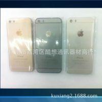 全新苹果5S 仿6中框 后盖 特价批发