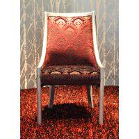 供应酒店形象椅 酒店椅  新古典后现代金箔雕花高靠背椅