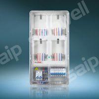 供应单相四户透明电表箱 机械式电表箱 玻璃钢电表箱 电表箱批发