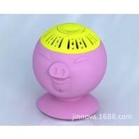 迷你音箱可爱小猪蓝牙音箱插卡音箱 无线便携蓝牙音响电脑小音箱