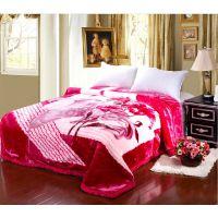 2014新款加厚 拉舍尔毛毯毯子批发婚庆毛毯毯子 众多花色原厂直供