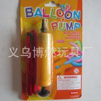 高品质长条气球带气筒 场地装饰气球套装 长条形气球套装批发