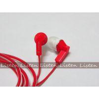 索尼MP3耳机 透明水晶线耳机 重低音MP3耳机批发 不带麦耳机