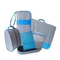 河北箱包厂 批发供应新款 便携出差旅游套装包 成套旅游包袋