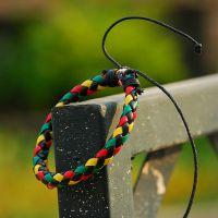 彩色韩版多元素 皮革编织手链  混搭原创个性气质特价打折