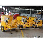 供应广州三业-拖车式柴油机排涝泵