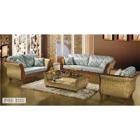 藤艺沙发家具,藤沙发好不好,客厅休闲藤沙发茶几组合